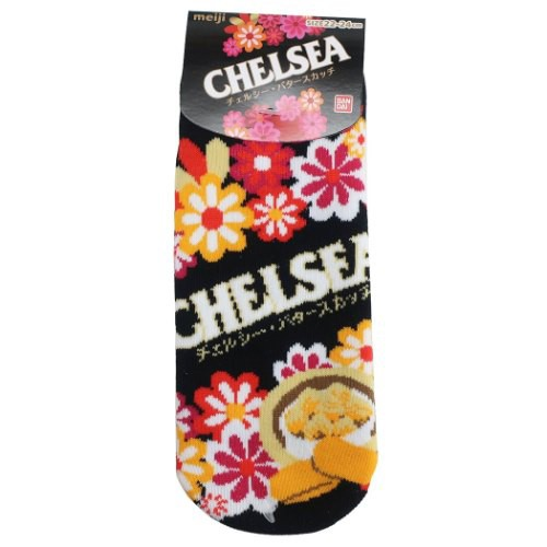 チェルシー 女性用 靴下 レディース ソックス おやつマーケット キャラクター グッズ メール便可