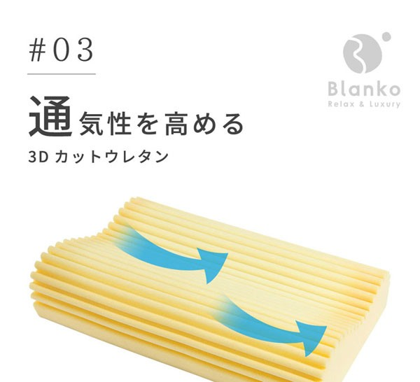 枕まくらマクラピロー低反発低反発枕寝具硬さが変わらない低反発スラブ枕ホワイトクリアグローブ
