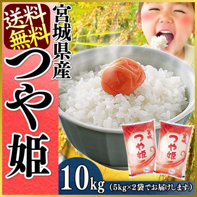 つや姫10kg (5kg×2袋)