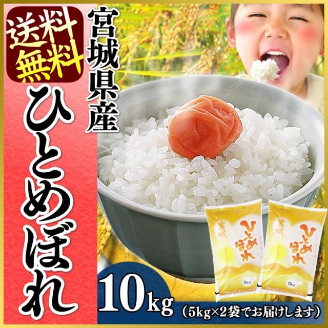 宮城県産ひとめぼれ10kg (5kg×2袋)