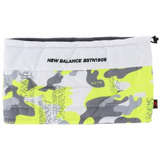 New Balance GOLF METRO アーバンタワーカモフラージュ柄 中綿入り キルト ネックウォーマー view1