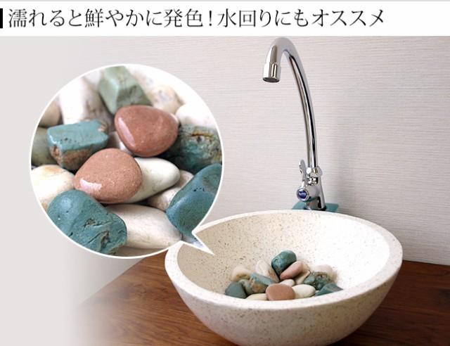 トイレタンク 小石