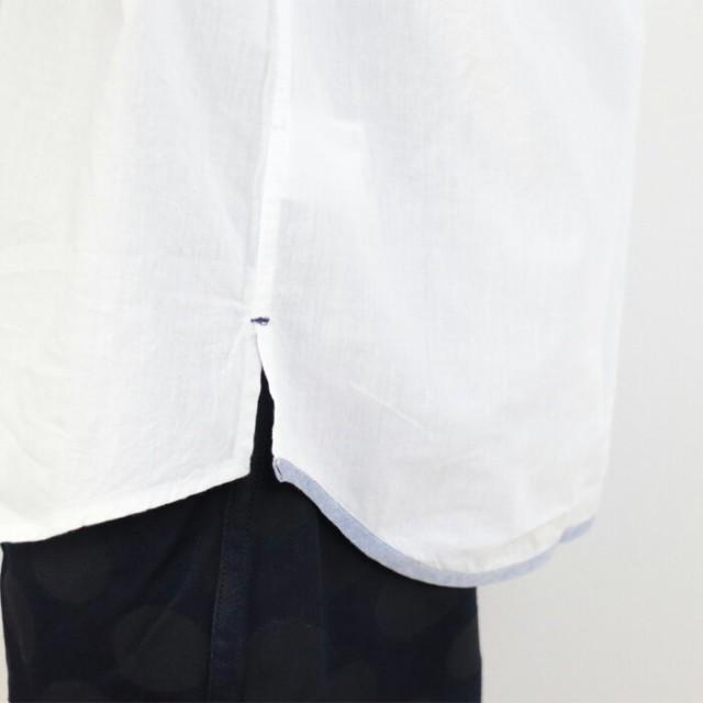 シャンブレー ちょいゆる 半袖 シャツ