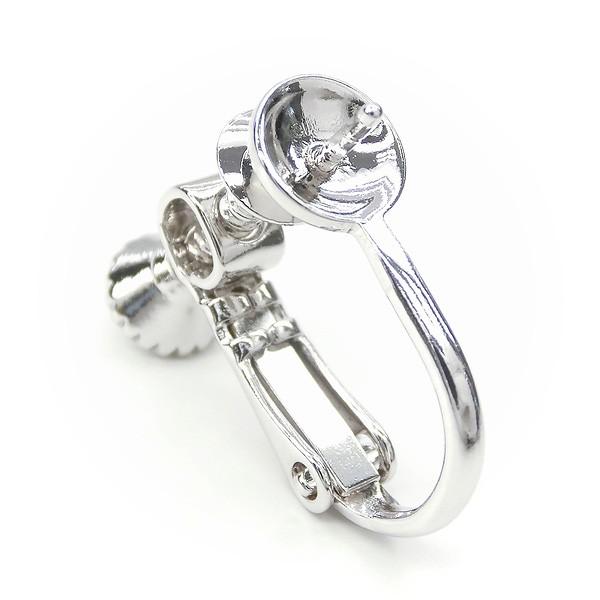 芯たて付きイヤリング金具