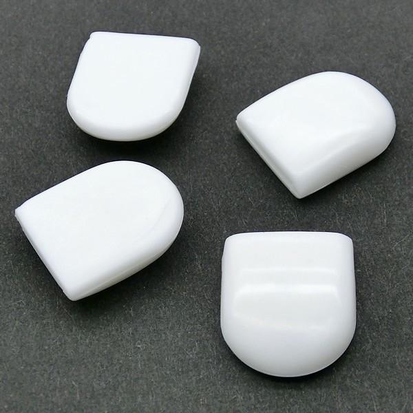 蝶バネ式イヤリングパーツ:丸皿12mm