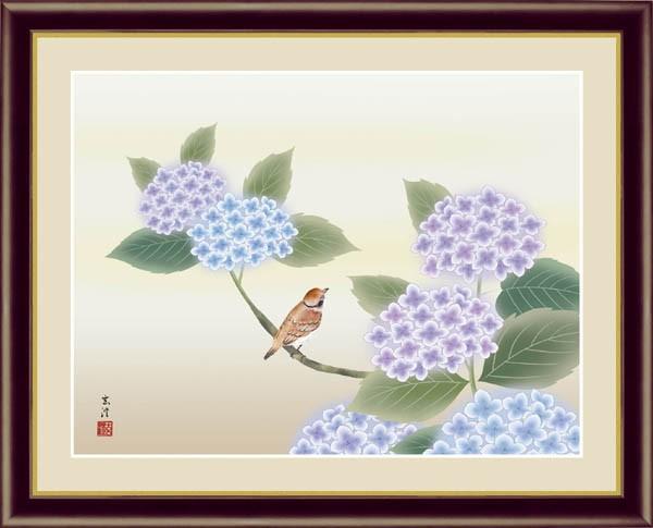 清水玄澄「紫陽花」