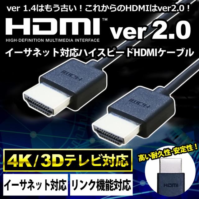 HDMIケーブル Ver2.0 1.5m