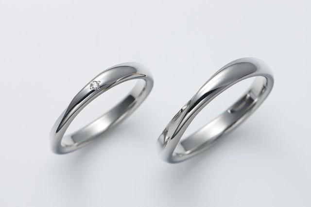 ペアリング ステンレス 結婚指輪 fe-fe fe-180-181