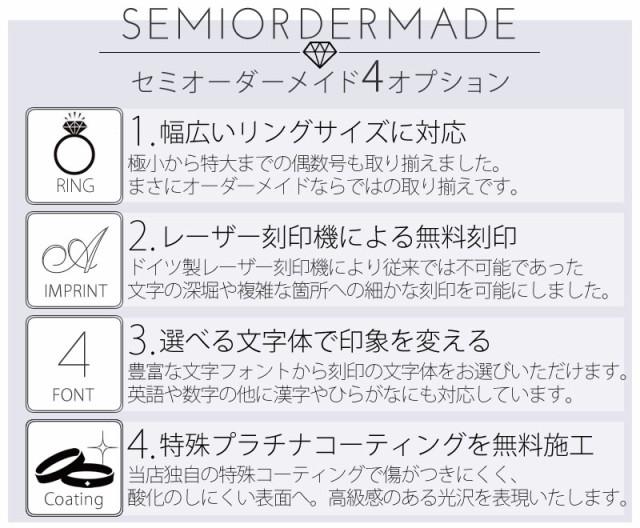セミオーダーメイド4つの特徴
