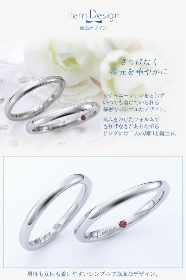 結婚指輪 ペアリング ステンレスセミオーダー ST112R-KS