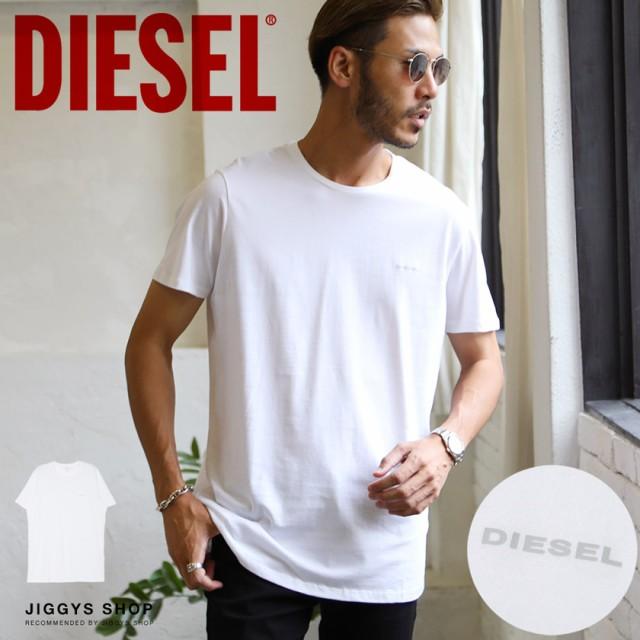 DIESEL(ディーゼル)ワンポイントロゴTシャツ