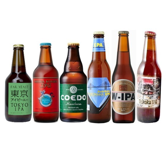 国産クラフトビール6種 IPA 飲み比べセット