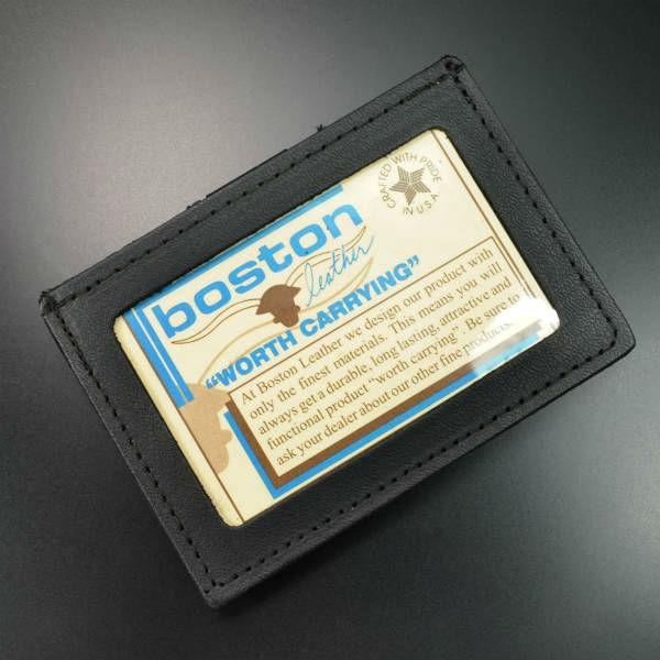 ボストンレザーIDカードホルダー5983-1ベルトクリップ